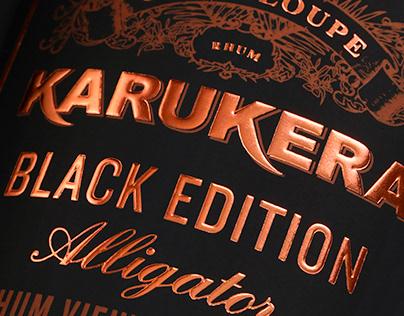 Rhum Karukera, Black Edition Alligator