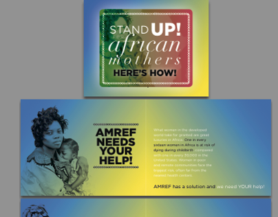 AMREF Rebranding, Stand Up For African Mothers Campaign