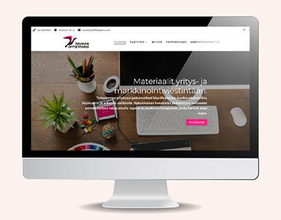 Web-Design | Rauman Offsetpaino, 2018