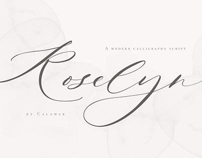 Roselyn Script