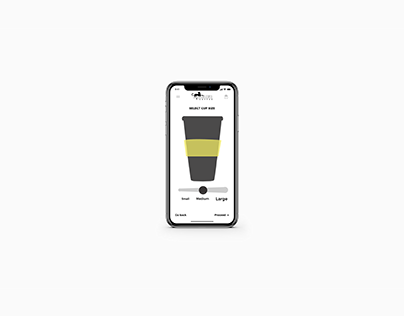 Conceptual UI/UX for Panther Coffee Mobile App