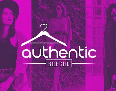 Logo Authentic Brechó