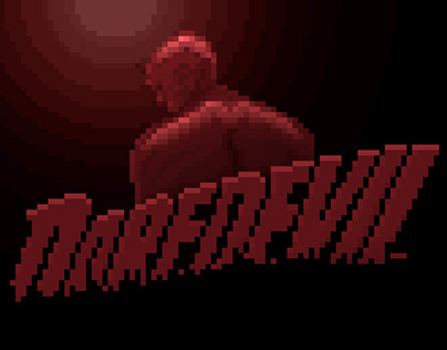 Daredevil Pixel Intro