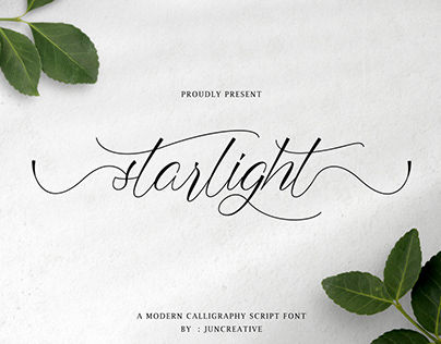 FREE   Starlight Modern Calligraphy