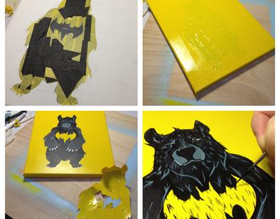 """Progress of """"Bat-Bear"""""""