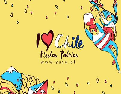 Campaña publicitaria fechas patrias Chile
