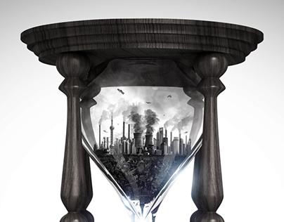 Small World #4 / Hourglass