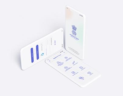 mPassport Seva App Redesign - UI/UX