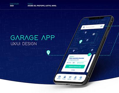 GARAGE - Diseño UX/UI Case Study