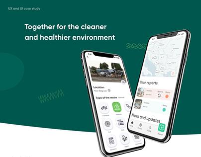 CleanUp - Illegal dumpsite report app