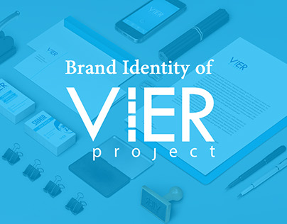 Brand Identity of VIER Project
