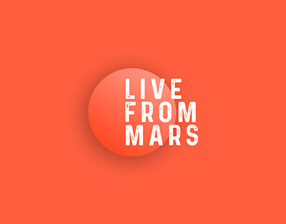 Live From Mars | Logo Design Concept