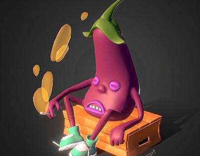 Smoking Eggplant