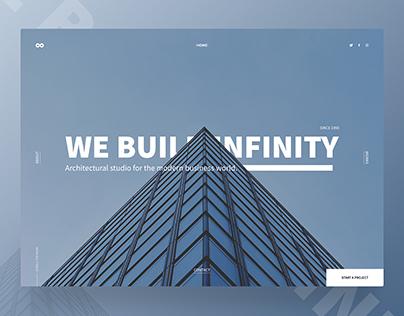Architectural studio - HERO PAGE DESIGN