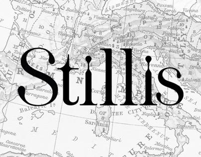 Stillis Typeface