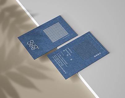 GUDEE // Business card design