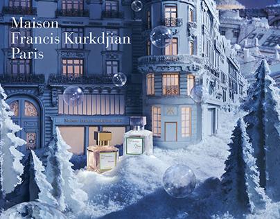 MAISON FRANCIS KURKDJIAN. Christmas campaign. Film