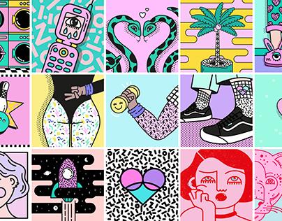 Illustrations / 2018