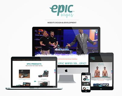 Epic Wipes Website Design