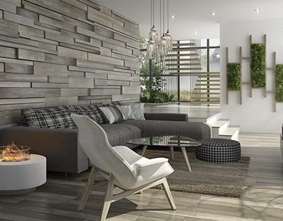 Scandinavian livingroom design