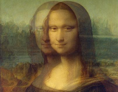 Leonardo da Vinci e Monalisa
