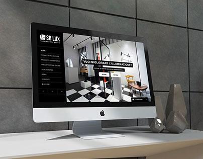 SB LUX / Web • Corporate identity