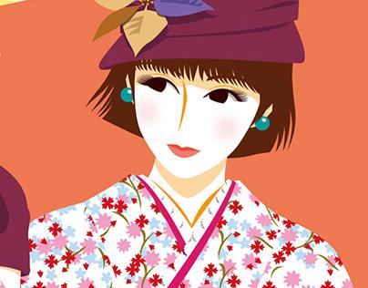 Female Illustration - Japanesque