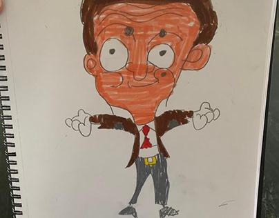 Mr Bean by Cian
