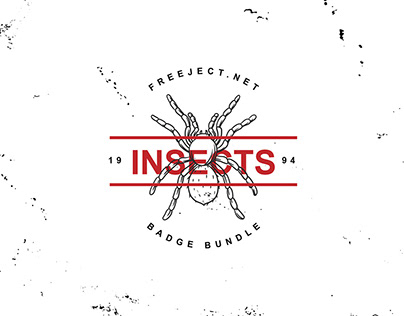 Free Insect Badge logo