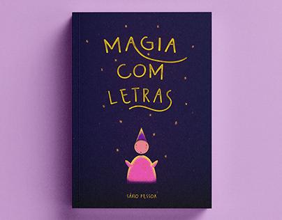 Capa Para Livro - Magia com Letras