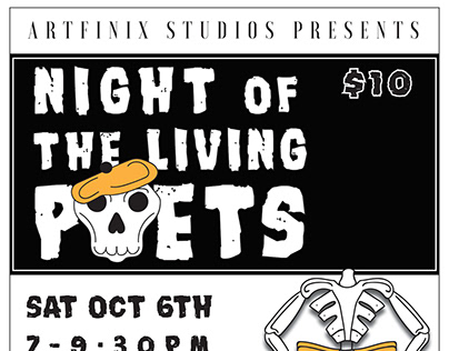 Night of The Living Poet