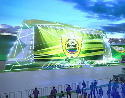 Открытие стадиона Анжи
