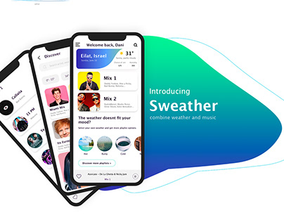 Combining Weather and Music APP