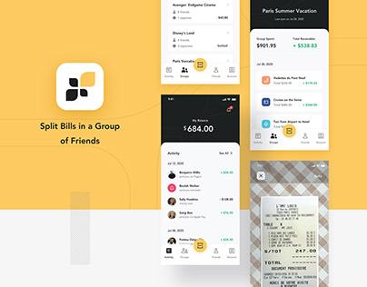 Fairpay - Split Bill App UI Kit