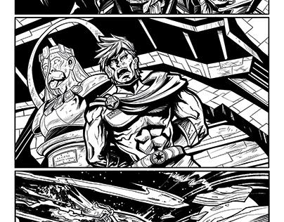 Cygnus Imperium ComicBook ART