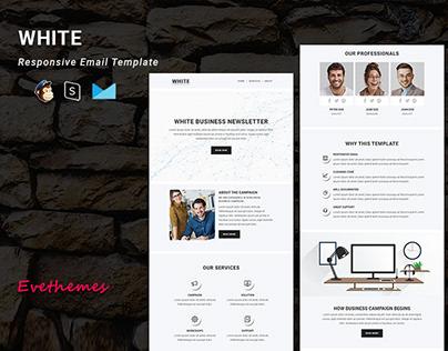 White – Multipurpose Responsive Email Newsletter