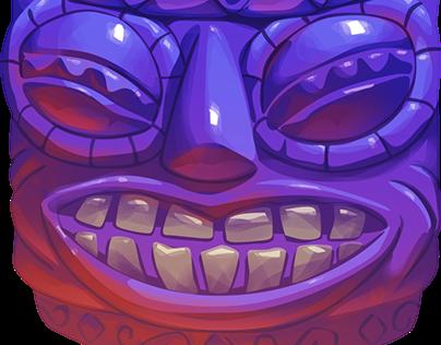 Game art: Tiki Slot