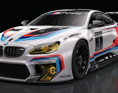 BMW M6 GT3 Studio Shoots SET2