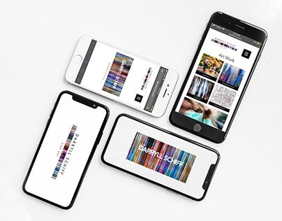Darryll Schiff Fine Art Studio- Logo/Website/Book Desig