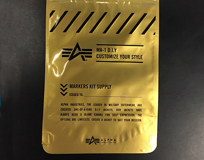 """MRE"" Style Packaging for Barney's and Alpha Industries"