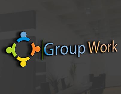 Group Work Logo Design