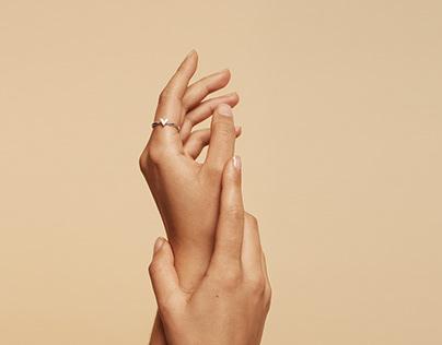 Jewellery Campaign for V STOCKHOLM / Jan 2021