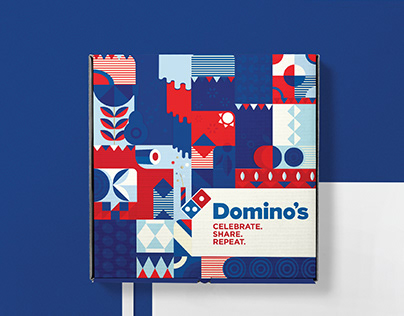 Domino's Pizza Box Packaging