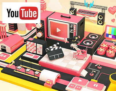 YouTube Space Art Project