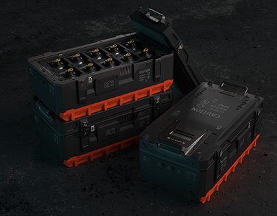 crate for GL36-O HIGH EX. grenades