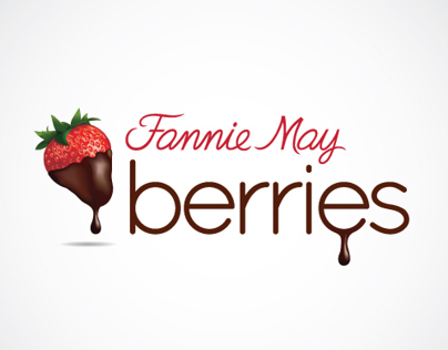 Logo for Fannie May Berries