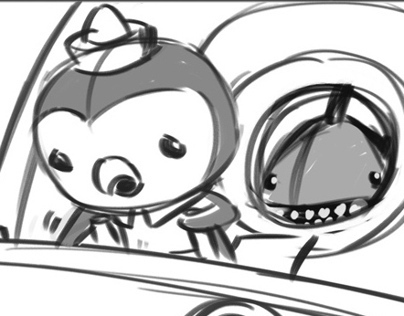 Octonauts Storyboard