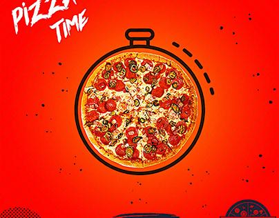 pizza social media ad
