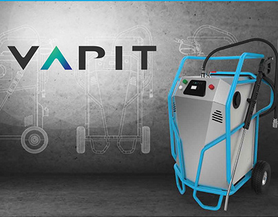 Vapit - high pressure dry steam cleaner