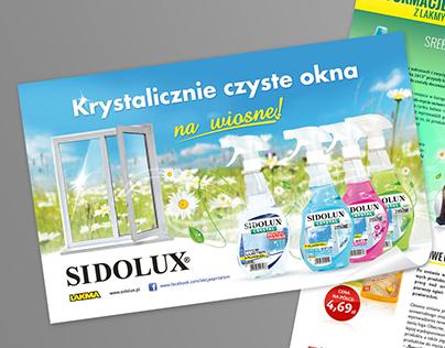Sidolux Ad & Newsletter